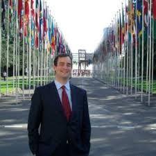 Michael Edward Walsh in Geneva, Switzerland