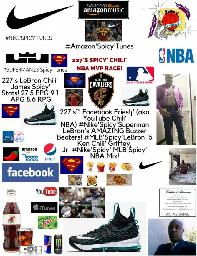 wholesale dealer a460b 346a3 227's™ Facebook Fries!¡' (aka YouTube Chili' NBA) #Nike ...