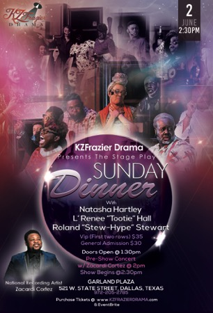 Sunday Dinner Stage Play - Dallas, TX