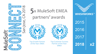 WHISHWORKS receives 2 partner awards from MuleSoft
