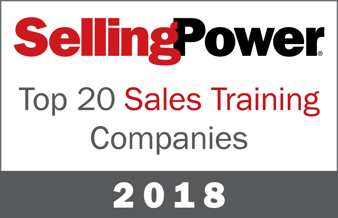 Top 20 Sales Training Companies 2018