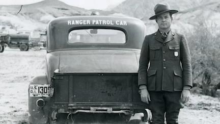 A Death Valley Ranger circa 1930