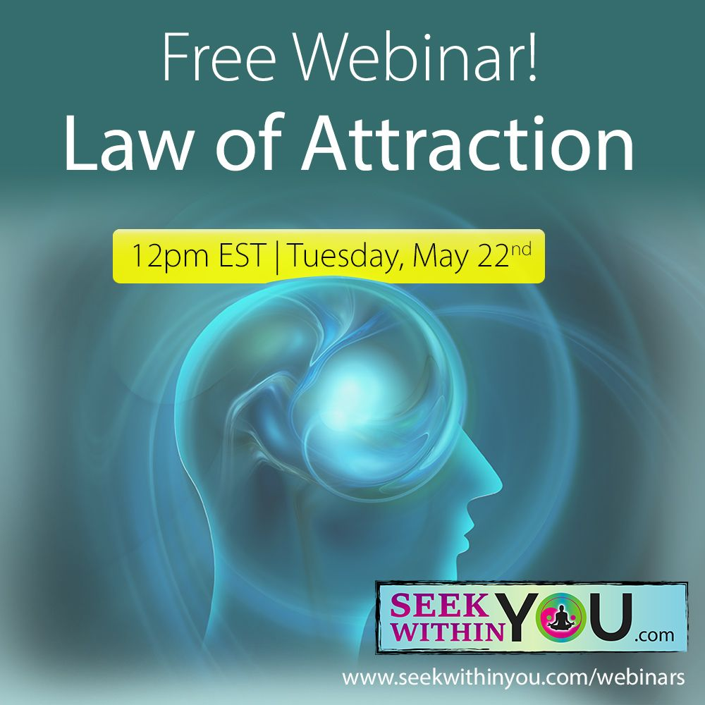 Law of Attraction Webinar May 22
