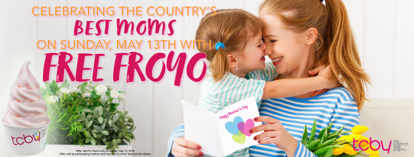 TCBY Mother's Day Promotion