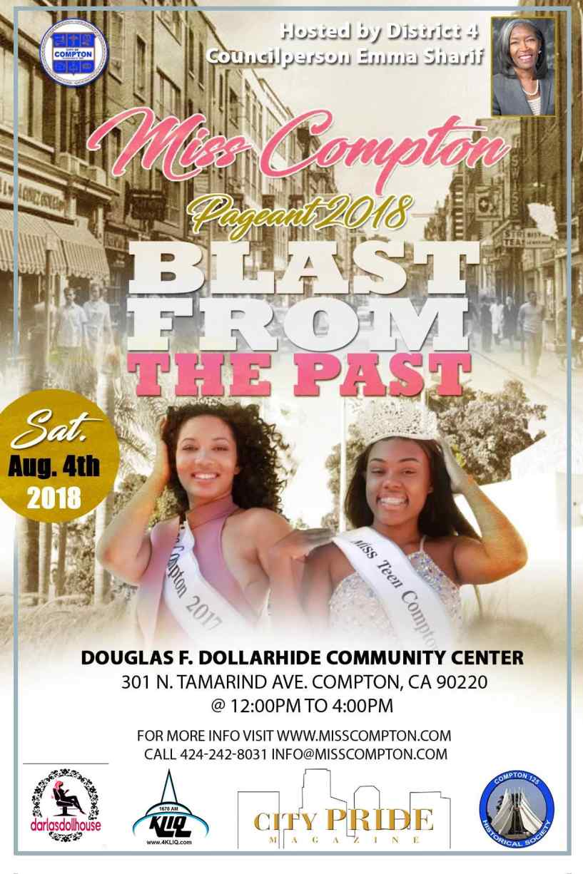 Miss Compton Pageant - Sat. August 4, 2018