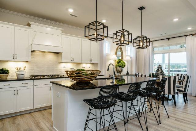 Visit the new M/I Homes' model home at Legacy at Jordan Lake.