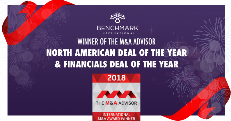 Benchmark- International M&A Advisory Winner