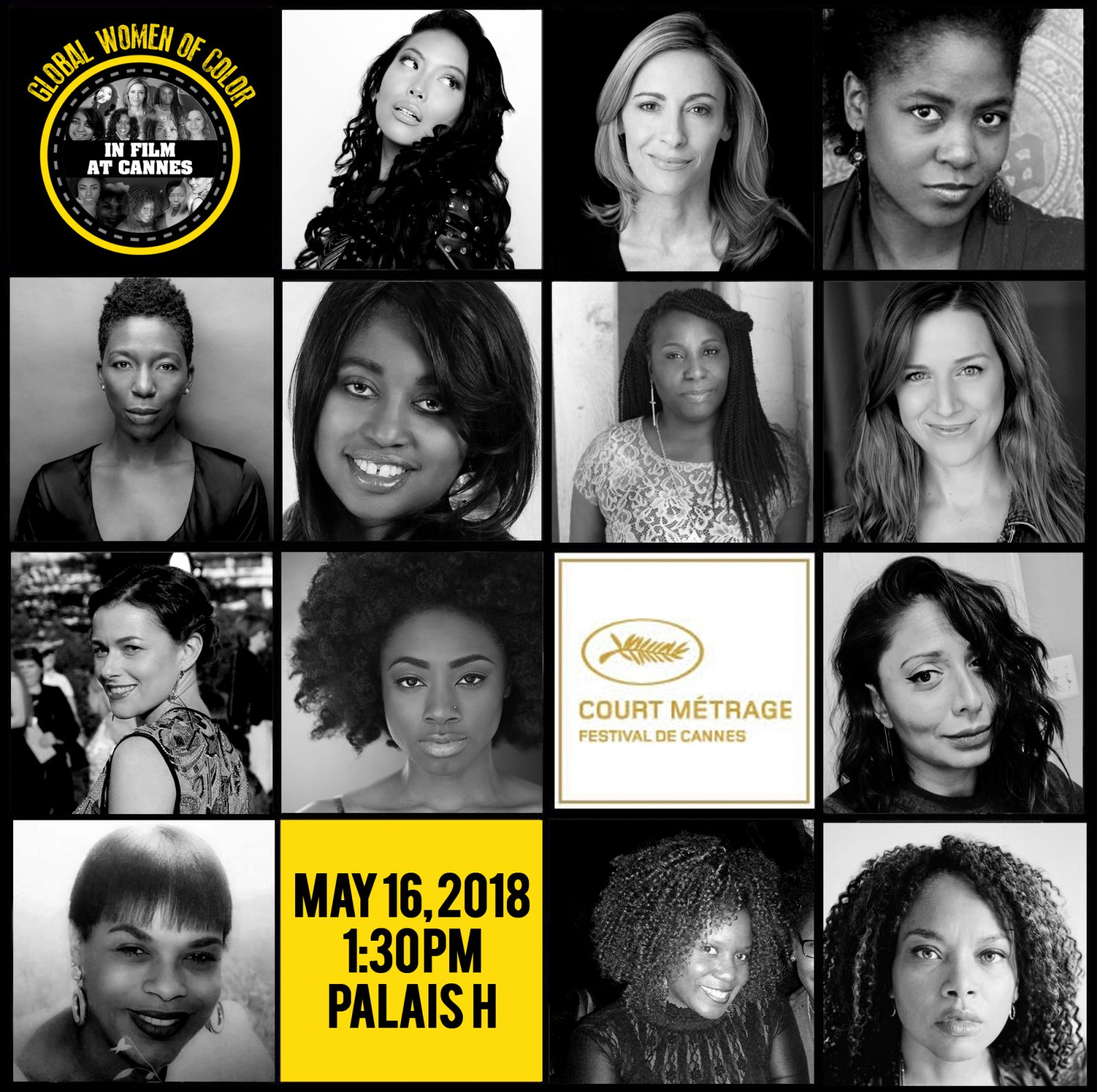 GLOBAL WOMEN OF COLOR IN FILM DAY AT CANNES FILM FESTIVAL 5/16/18 1:30 PM