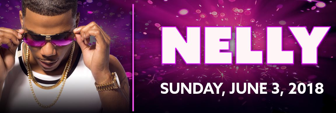 NELLY at Cove Haven Entertainment Resorts Sunday, June 3!