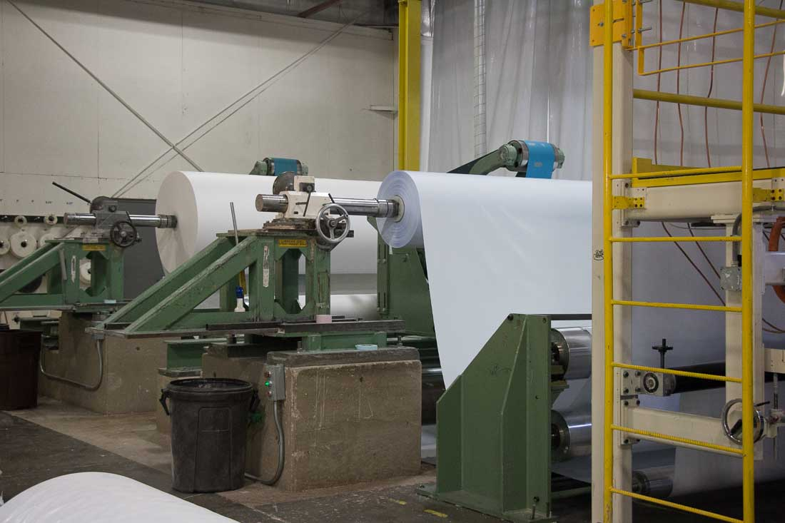 Adhesive ply bonding at American Custom Converting