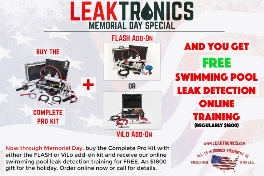 LeakTronics Memorial Day 2018 Special