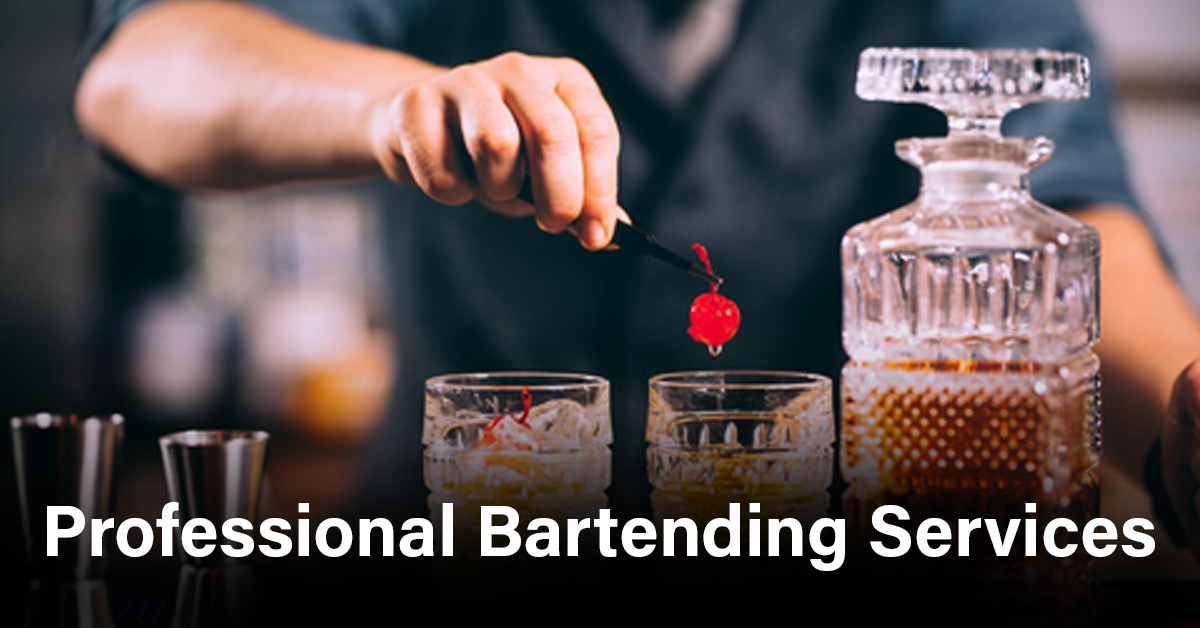 Professional bartending services