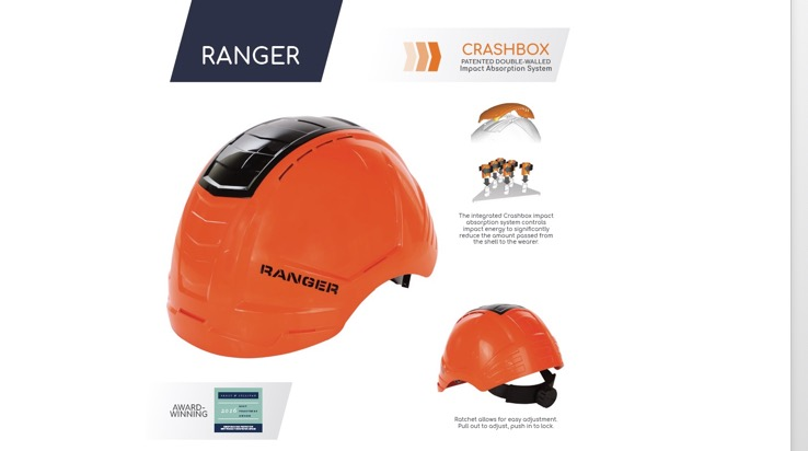 Ranger Helmet Wide View
