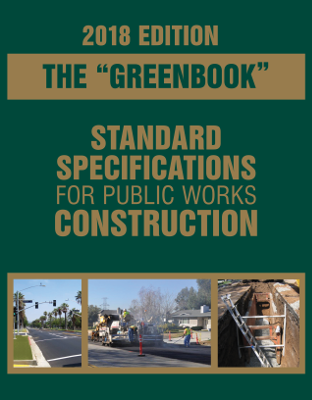 2018 Greenbook Standard Specifications For Public Works Construction eBook