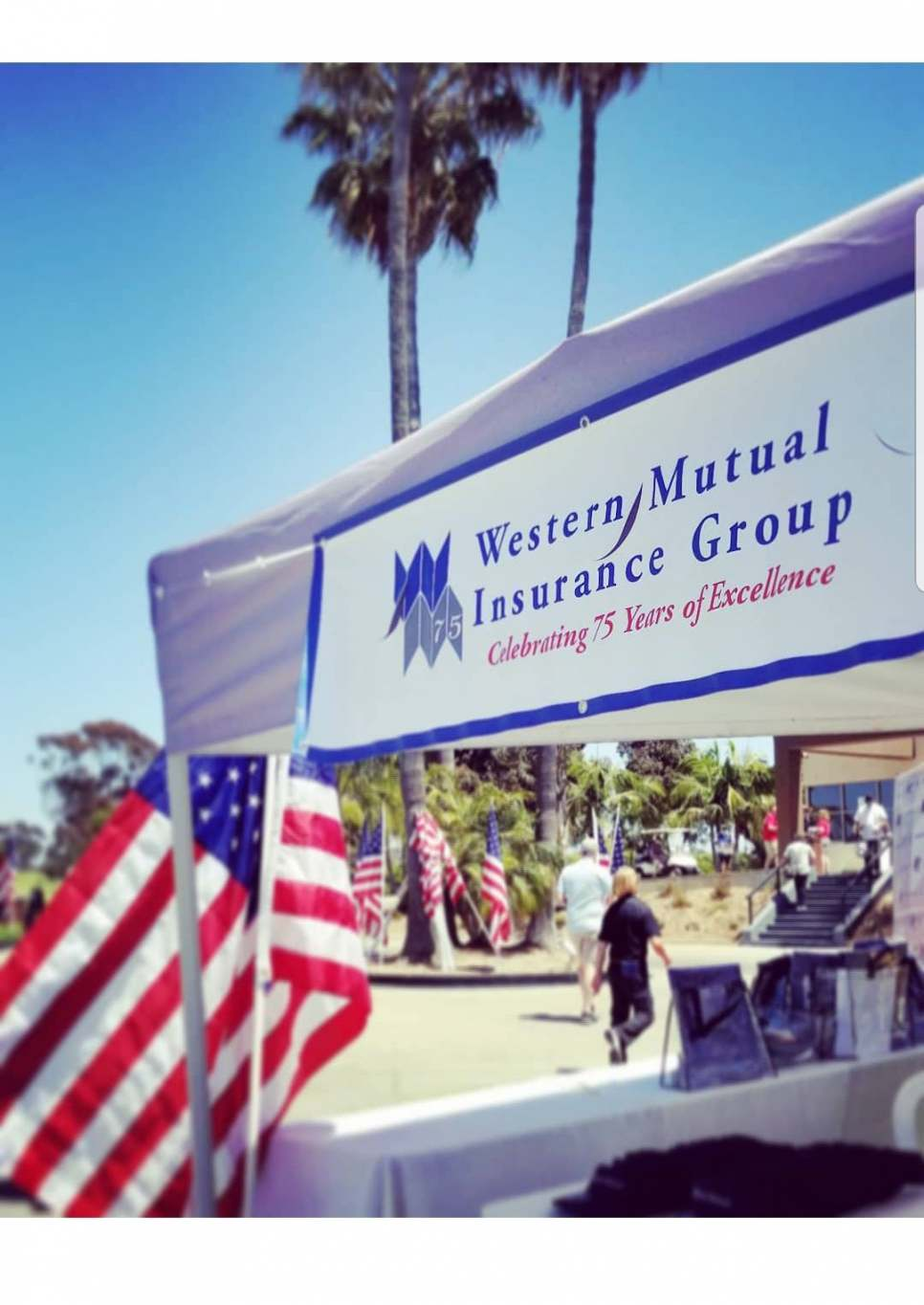 Western Mutual served as Title Sponsor of the Patriots & Paws Golf Tournament