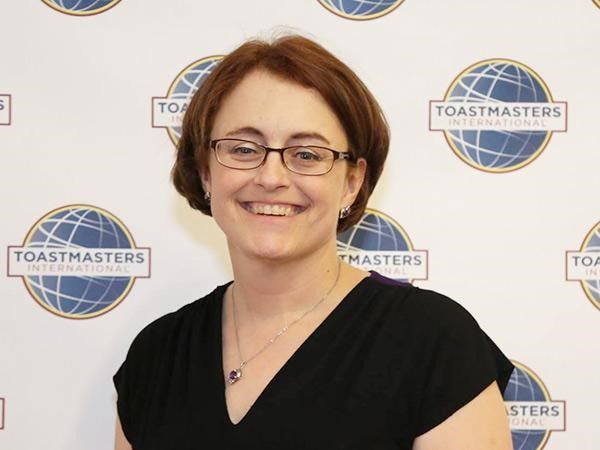 2018 – 2019 District Director, District 86 Toastmasters, Kristina Johnston