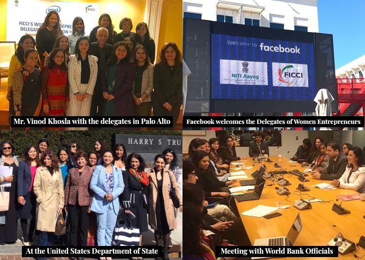 Delegation of Indian Women Entrepreneurs visit USA as a ...
