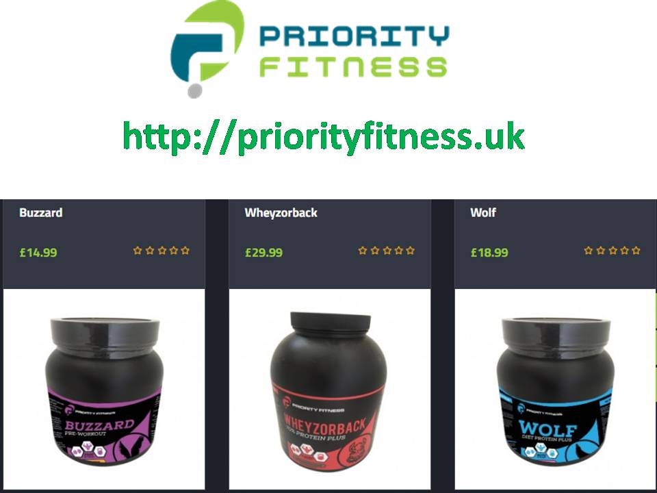priorityfitness.uk - sports supplements UK