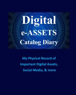 Digital e-Assets Catalog Diary