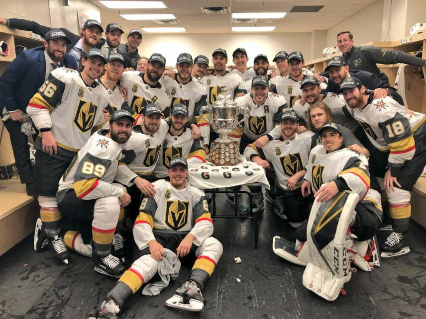 Vegas Golden Knights - Western Conference Champs - On To The Stanley Cup Final