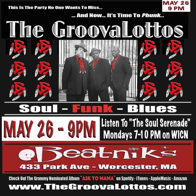 The GroovaLottos @ Beatnik's on 5-26