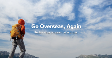Promotional Image for Go Overseas Again Contest