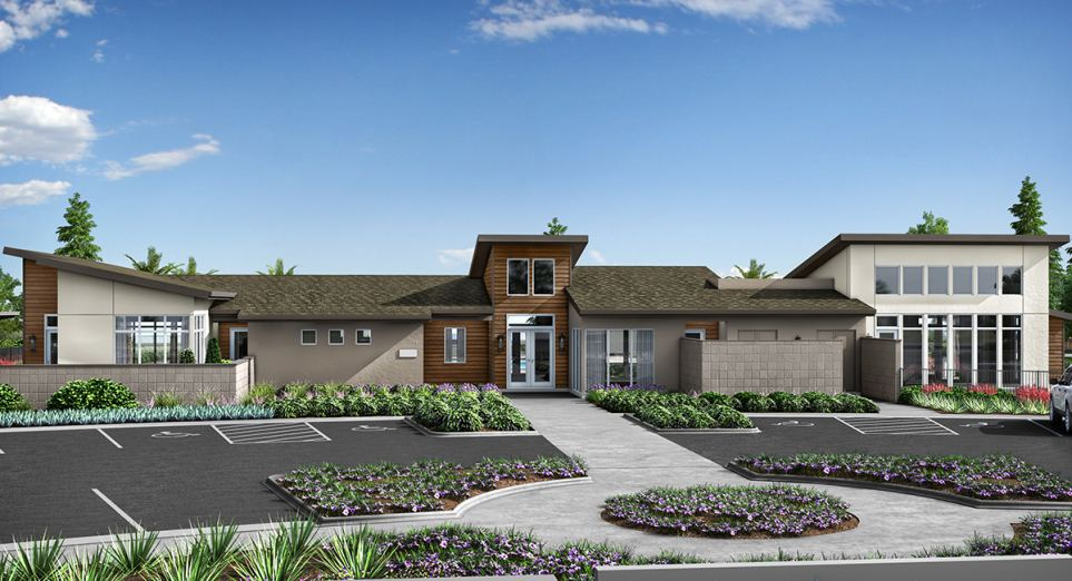 Heritage Solaire is an masterplan for 55+ with 12 model homes that are now open.
