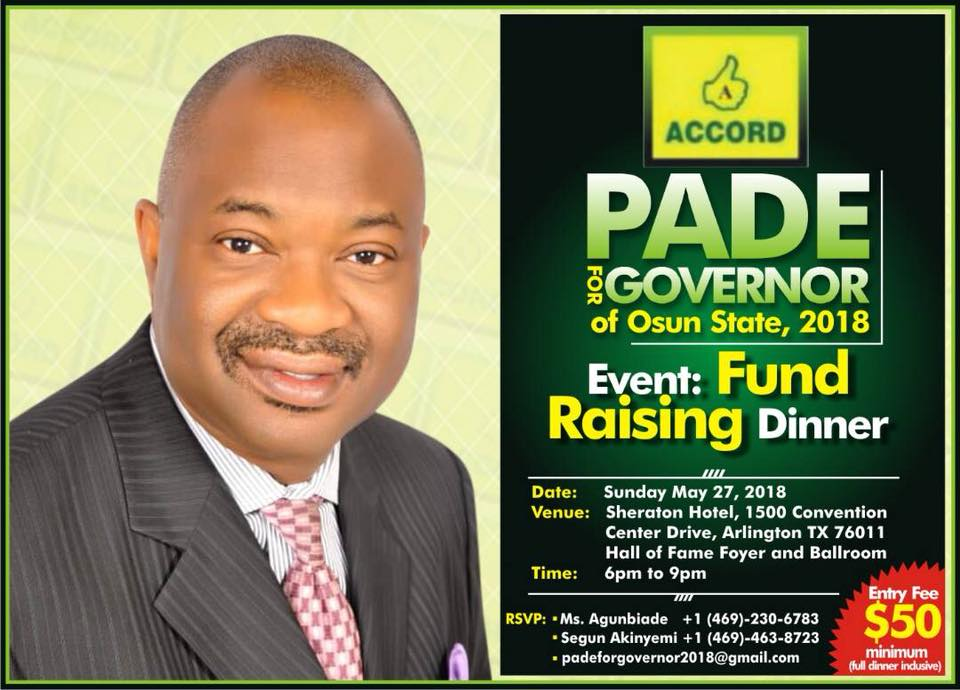 Pade Okunola - Accord Party of Nigeria