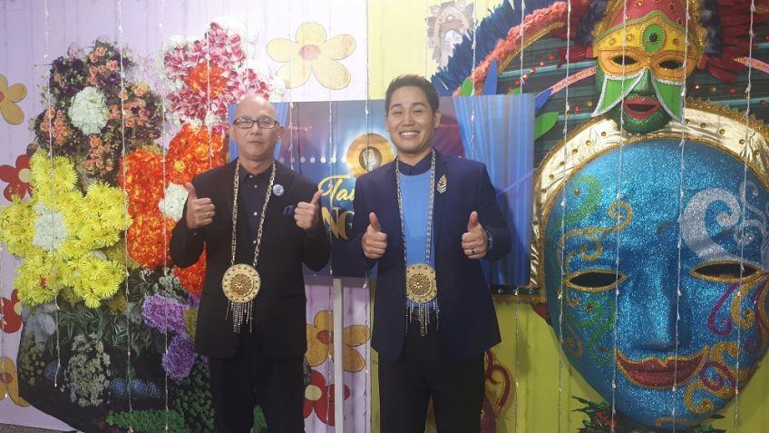 The first two global repreentatives to Tawag ng Ta
