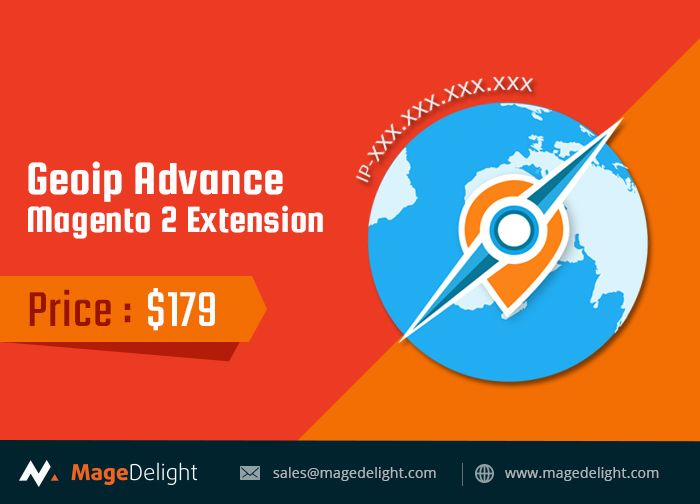 Magento 2 Geo IP Advance Extension