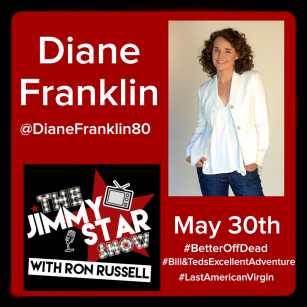 Diane Franklin To Guest On The Jimmy Star Show With Ron Russell