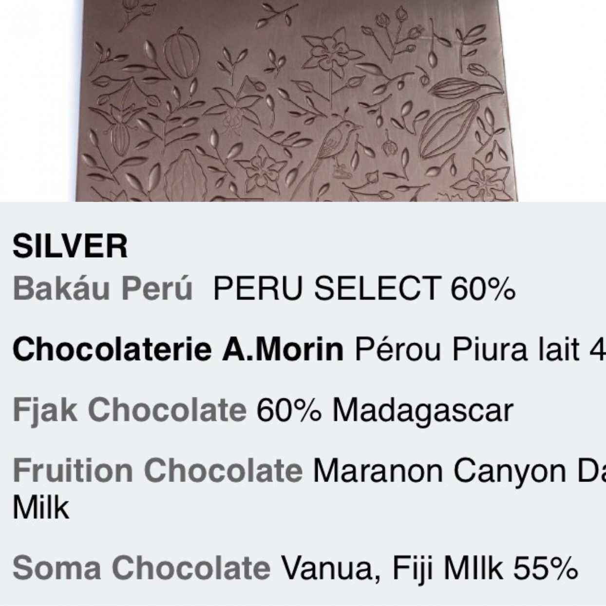 Soma Cacaofiji Vanua Dark Milk awards