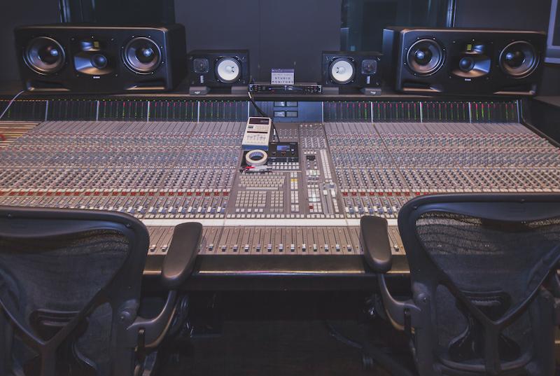 Adam Audio S5Hs at Hybrid Studios