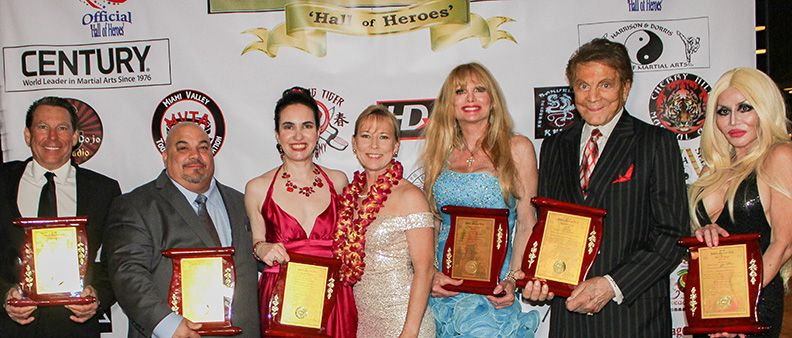 USA Martial Arts Hall of Fame Awardees