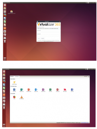 Virtulaze Application Launcher for Linux