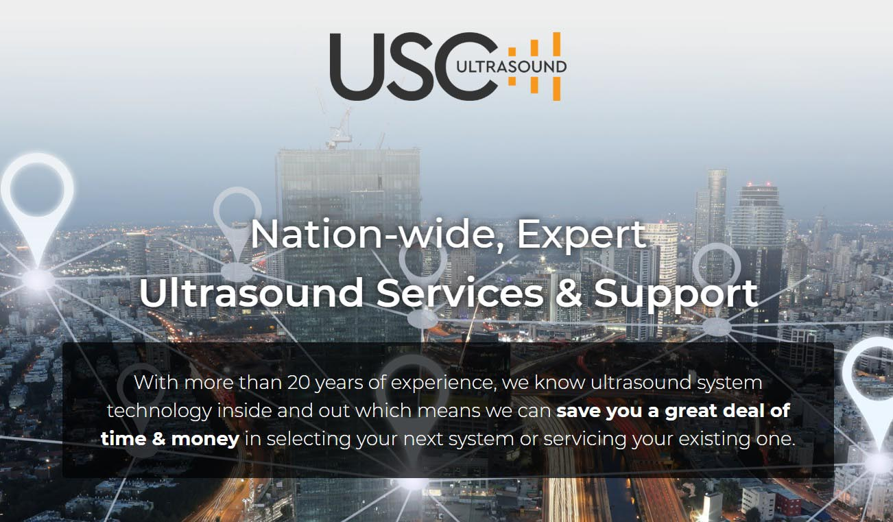USC Ultrasound – Nationwide, Expert Ultrasound Service & Support