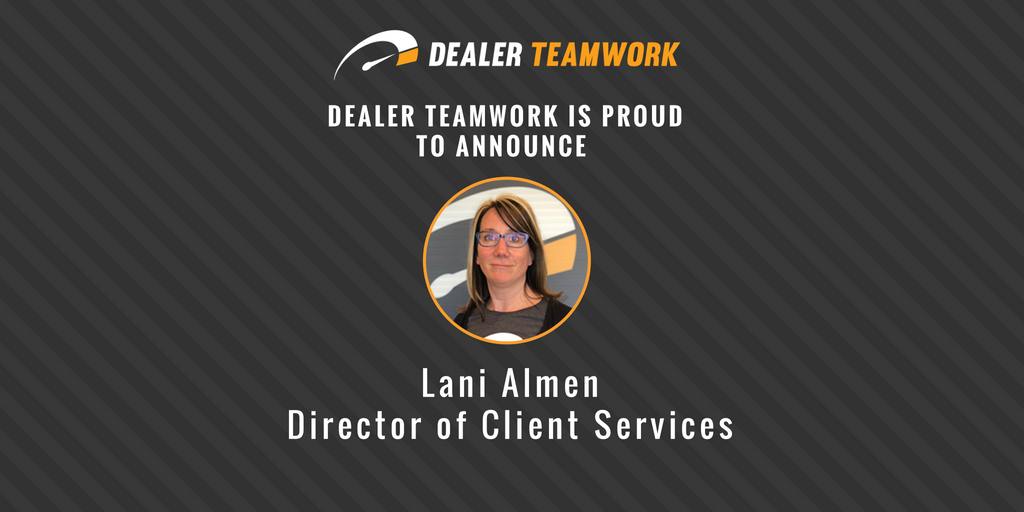 Lani Almen - Director of Client Services
