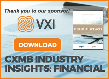 CXMB Industry Insights: Financial Services