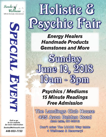 Holistic and Psychic Fair in Avon Lake, OH