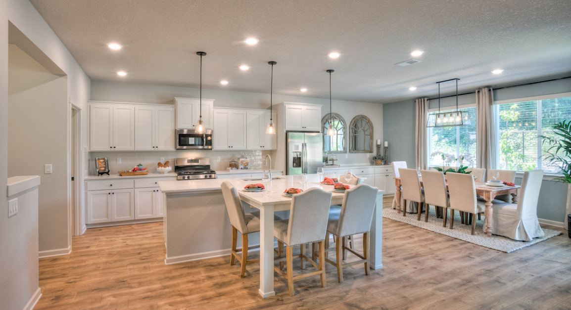 Discover eight single- and two-story floorplans in Pleasant Valley