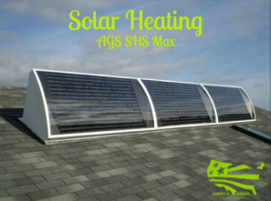 America Green Solar patented solar heating technology.