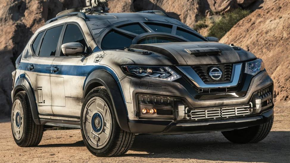 2018 Nissan Rogue Inspired By  Iconic Millennium Falcon