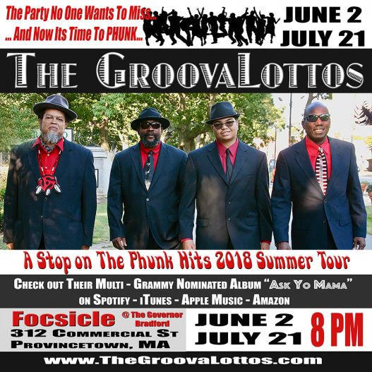The GroovaLottos @ Focsicles in Provincetown on June 2