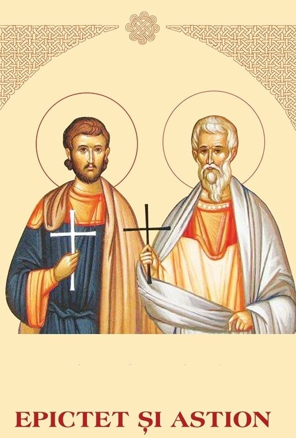 SAINTS PROTECTORS OF EUROPE: ASTION AND EPICTETUS