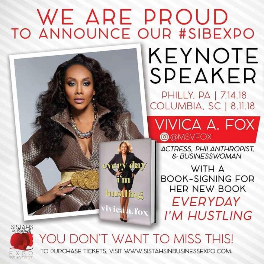 Keynote Speaker, Vivica A. Fox