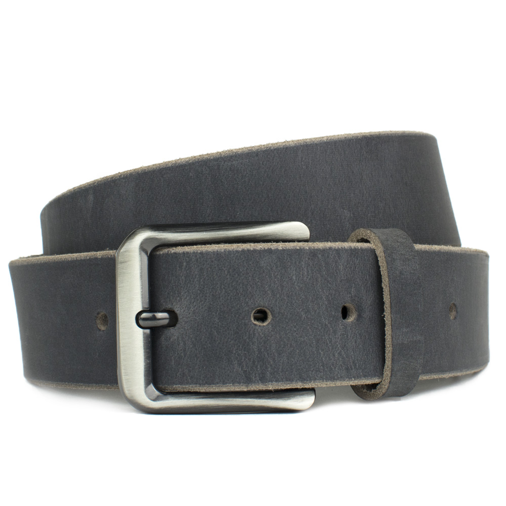 Smoky Mountain Distressed Leather Nickel Free Belt