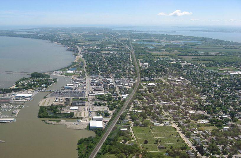 Downtown Port Clinton, Ohio