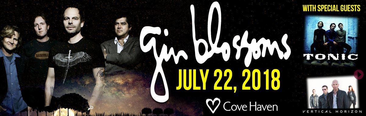 Gin Blossoms at Cove Haven Resorts - Summer 2018!