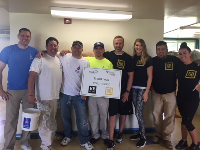 HomeAid Sacramento Joins Sherwin-Williams & KB Home to Paint a Better Tomorrow.