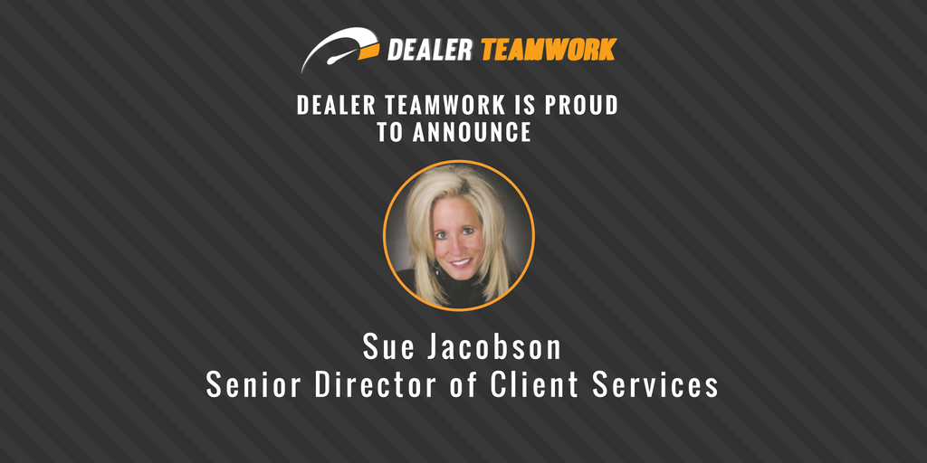 Sue Jacobson - Senior Director of Client Services